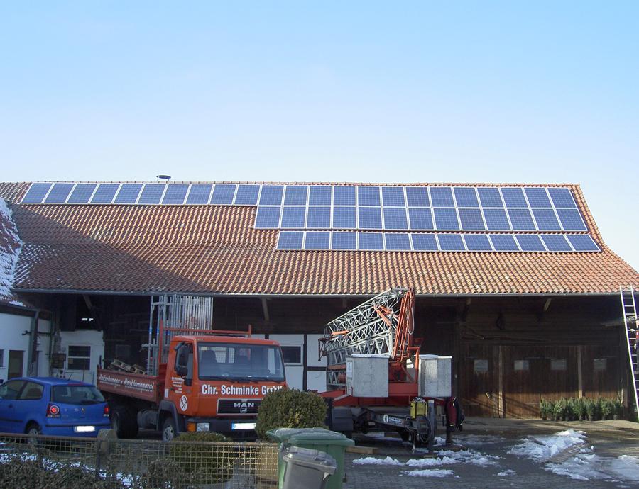Photovoltaik-Anlage, Bad Emstal